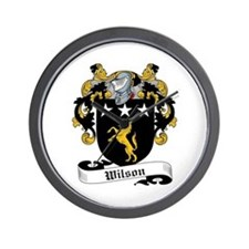 Wilson Coat of Arms Wall Clock