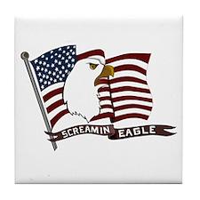 Screamin Eagle Tile Coaster