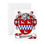 Wilkinson Coat of Arms Greeting Cards (Package of