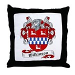Wilkinson Coat of Arms Throw Pillow