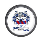 Wilkie Family Crest Wall Clock