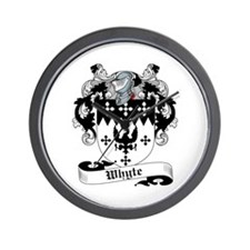 Whyte Coat of Arms Wall Clock