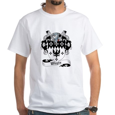 Whyte Coat of Arms White T-Shirt