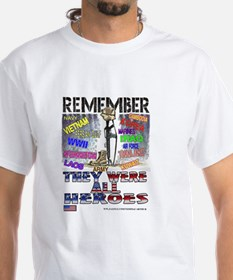 THEY WERE ALL HEROS Shirt