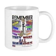 THEY WERE ALL HEROS Small Mug