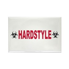 Hardstyle Rectangle Magnet