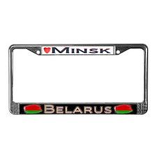 Minsk, BELARUS - License Plate Frame