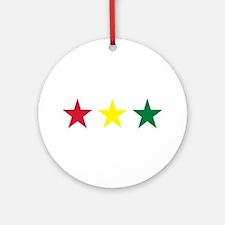 Reggae Ornament (Round)