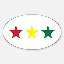 Reggae Sticker (Oval)