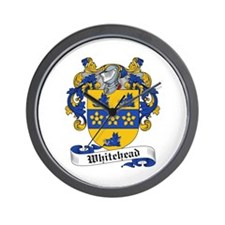 Whitehead Coats or Arms Wall Clock
