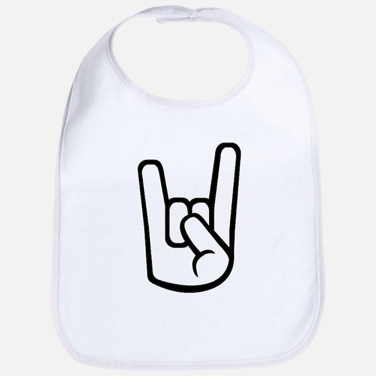 Rock Hand Bib