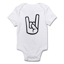 Rock Hand Infant Bodysuit