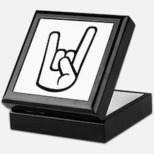 Rock Hand Keepsake Box