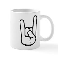 Rock Hand Small Mug