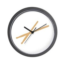 Drums - Drumsticks Wall Clock