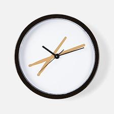 Drums - Drumsticks Wall Clock