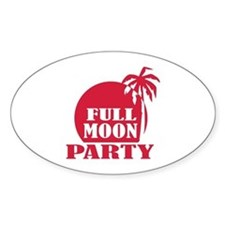 Full Moon Party Decal