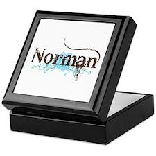 Grunge Norman Oklahoma Keepsake Box