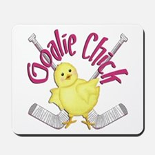 Goalie Chick Mousepad