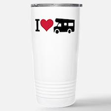 I love camping - camper Stainless Steel Travel Mug