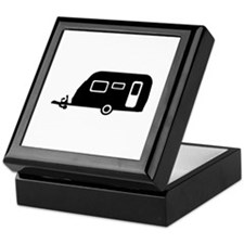 Caravan - trailer Keepsake Box