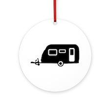 Caravan - trailer Ornament (Round)