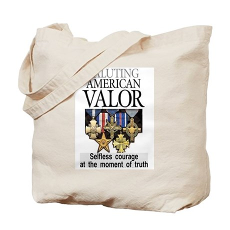 AMERICAN VALOR Tote Bag