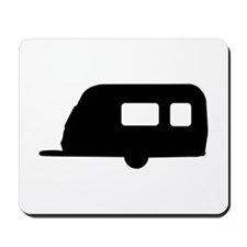 Trailer - camping Mousepad