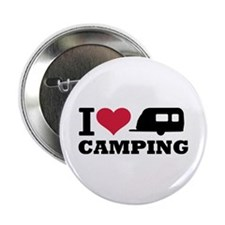 """I love camping 2.25"""" Button (10 pack)"""