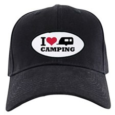 I love camping Baseball Hat