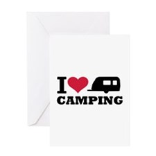 I love camping Greeting Card