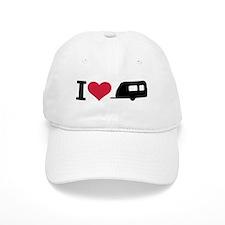 I love camping - trailer Baseball Cap