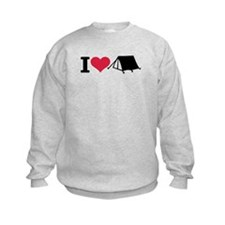I love camping - tent Sweatshirt