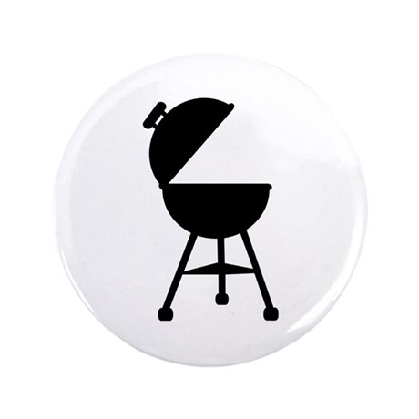 "BBQ - Barbecue 3.5"" Button"