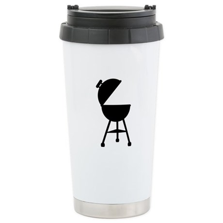 BBQ - Barbecue Stainless Steel Travel Mug