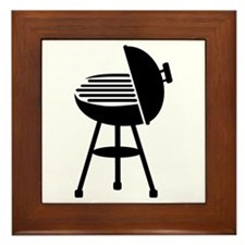 BBQ - Grill Framed Tile