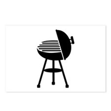 BBQ - Grill Postcards (Package of 8)