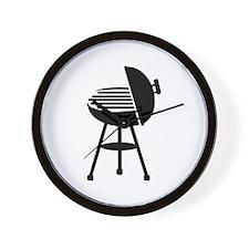BBQ - Grill Wall Clock