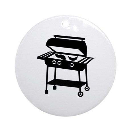 BBQ - Barbecue Ornament (Round)