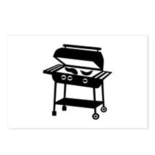 BBQ - Barbecue Postcards (Package of 8)