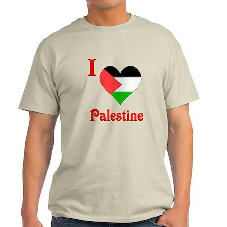 I Love Palestine #5 Light T-Shirt