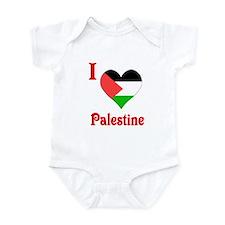 I Love Palestine #5 Infant Bodysuit