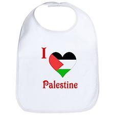 I Love Palestine #5 Bib