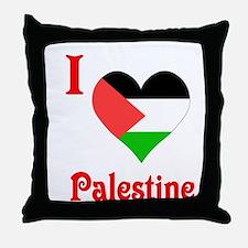 I Love Palestine #5 Throw Pillow