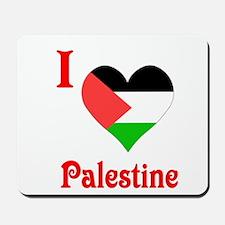 I Love Palestine #5 Mousepad