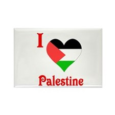 I Love Palestine #5 Rectangle Magnet