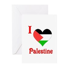 I Love Palestine #5 Greeting Cards (Pk of 10)