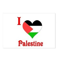 I Love Palestine #5 Postcards (Package of 8)