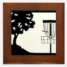 Disc Golf Framed Tile