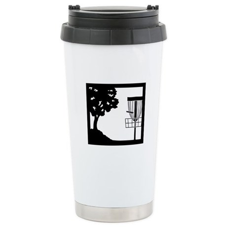 Disc Golf Stainless Steel Travel Mug